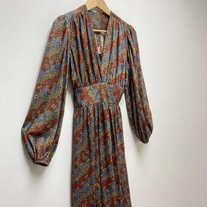 Joy Stevens California VTG Dress 1970's Sz 6/8